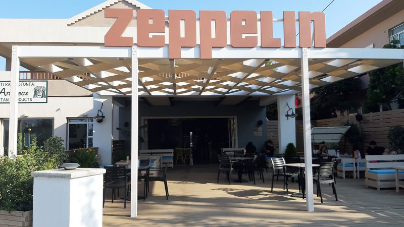 Zeppelin Cafe Bar – Kavros